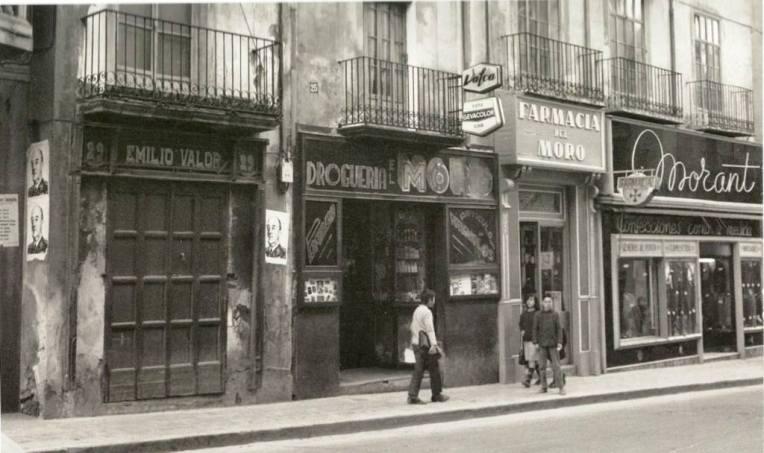 Comercios en San Lorenzo (Años 50)