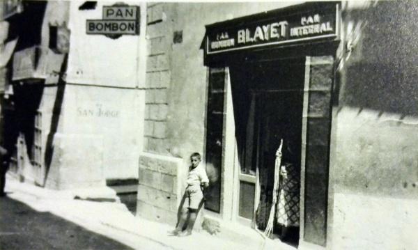 Panadería Blayet, años 30